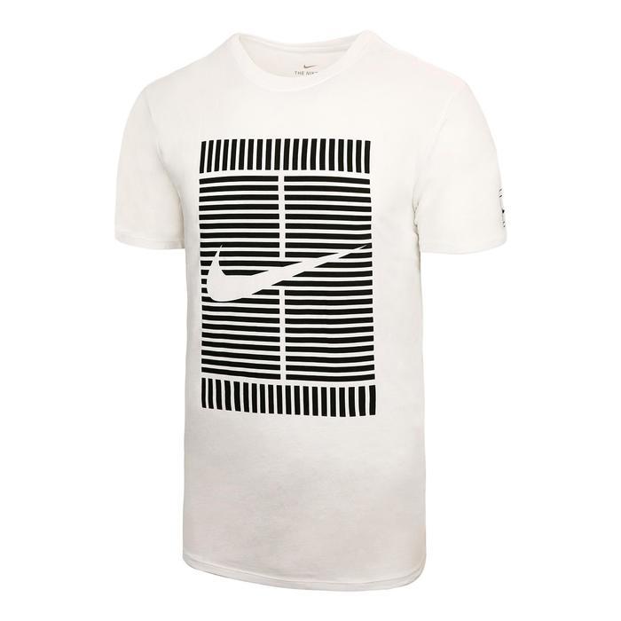 T-Shirt Tee Oz Tennisshirt weiß