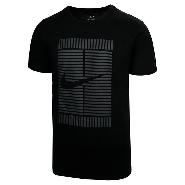 Nike tennis T-shirt OZ zwart