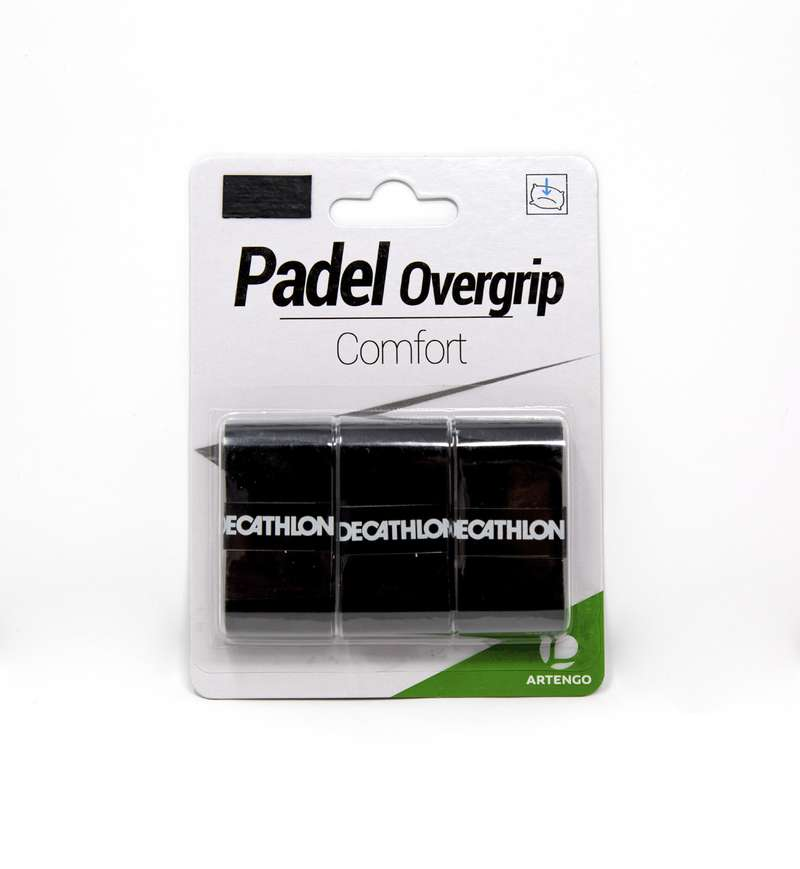 PADEL ACCESSORIES Other Racket Sports - Comfort Overgrip Tri-Pack ARTENGO - Other Racket Sports