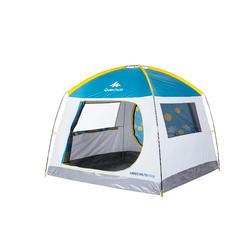 4人防曬防風日月印花遮陽帳篷