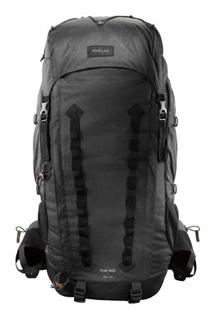 Sac à dos randonnée en montagne TREK900 Symbium 70+10L anthracite - Hommes