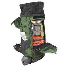 Mochila de Montaña y Trekking Forclaz Trek500 70+10 Litros Hombre Verde