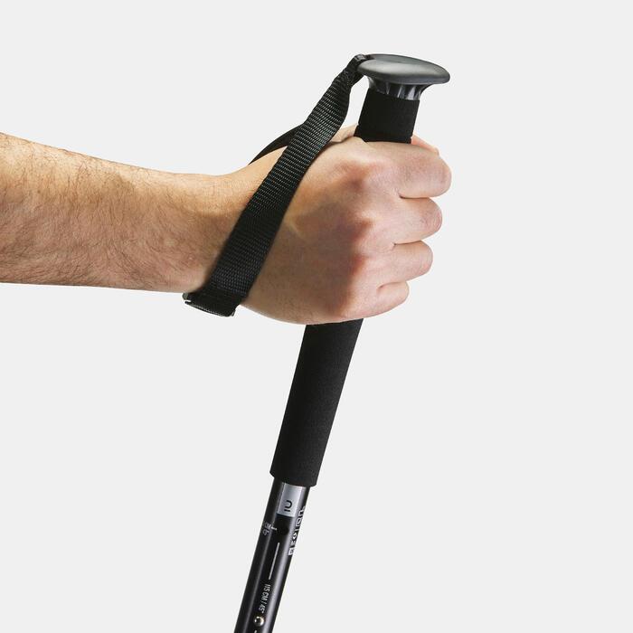 1 Arpenaz 200 black walking pole