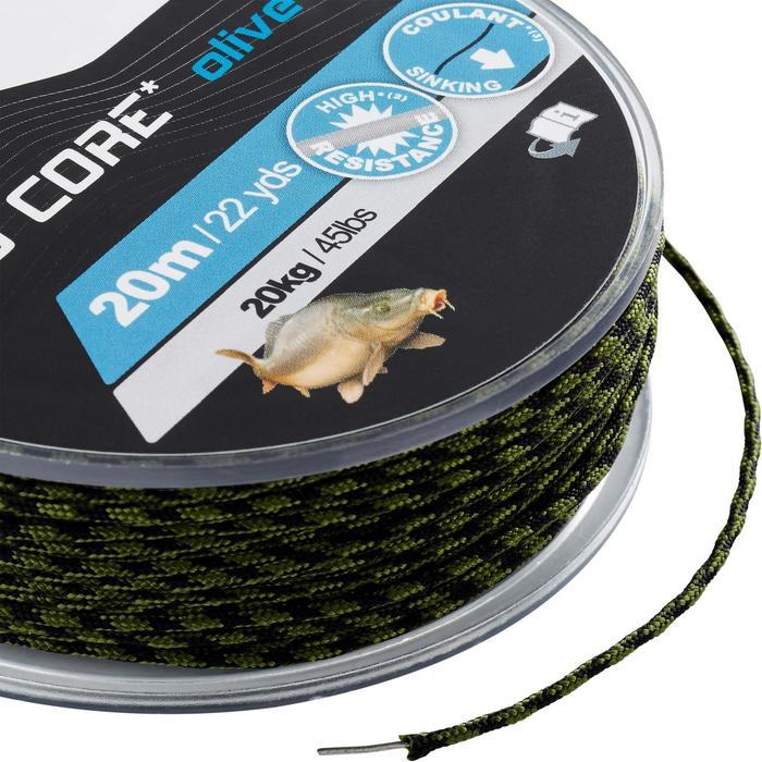 Lijn voor karpervissen Lead Core 45 lbs olijf - 1326038