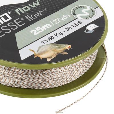 Bas de ligne Tresse pêche de la carpe FLOW C 25m