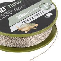 FLOW C 25m leader Carp fishing braid