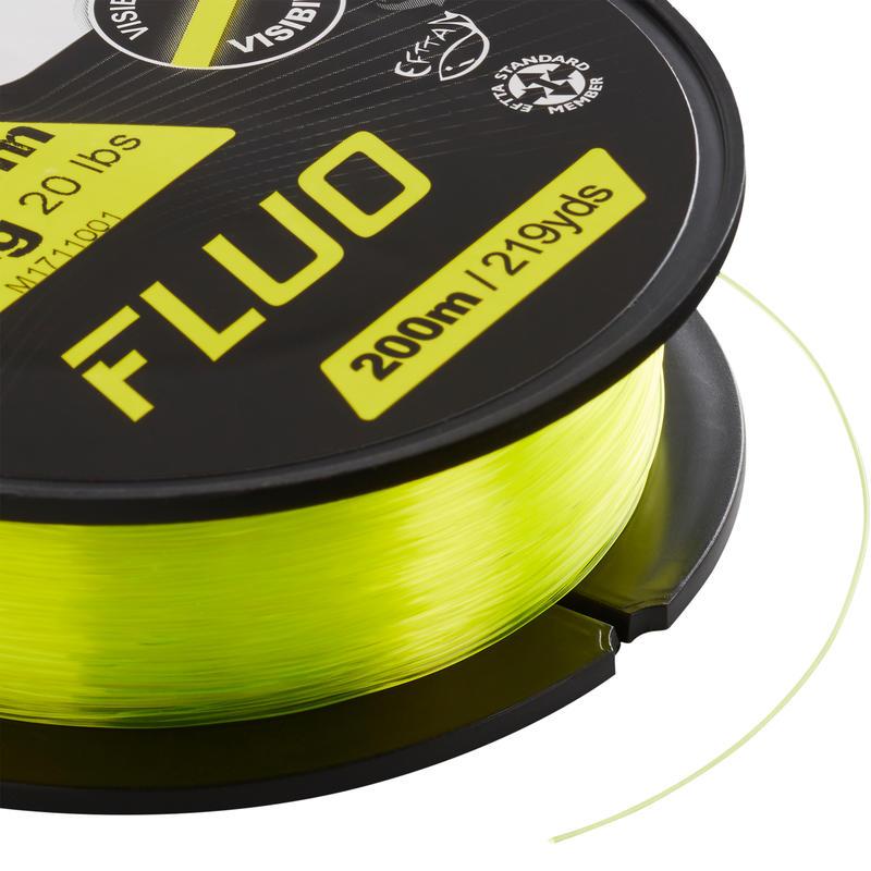 Línea polivalente pesca fluo LÍNEA FLUO 200 M