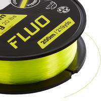 Універсальна рибальська волосінь 200 M FL - Флуоресцентна