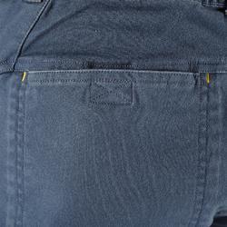 男款3/4攀岩長褲-風暴灰