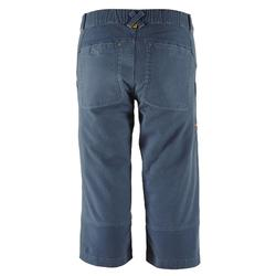 PANTACOURT STRETCH D'ESCALADE COTON BIO HOMME - COULEUR GRIS
