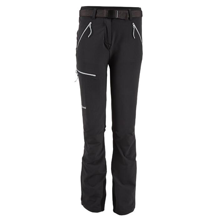 Pantalon Alpi Light dames carbongrijs