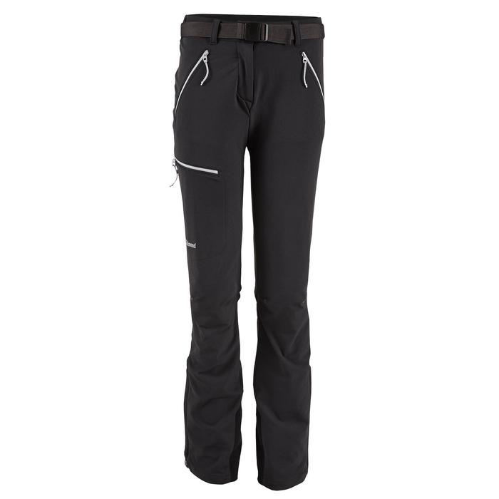 Pantalon d'alpinisme femme - ALPINISM LIGHT GRIS