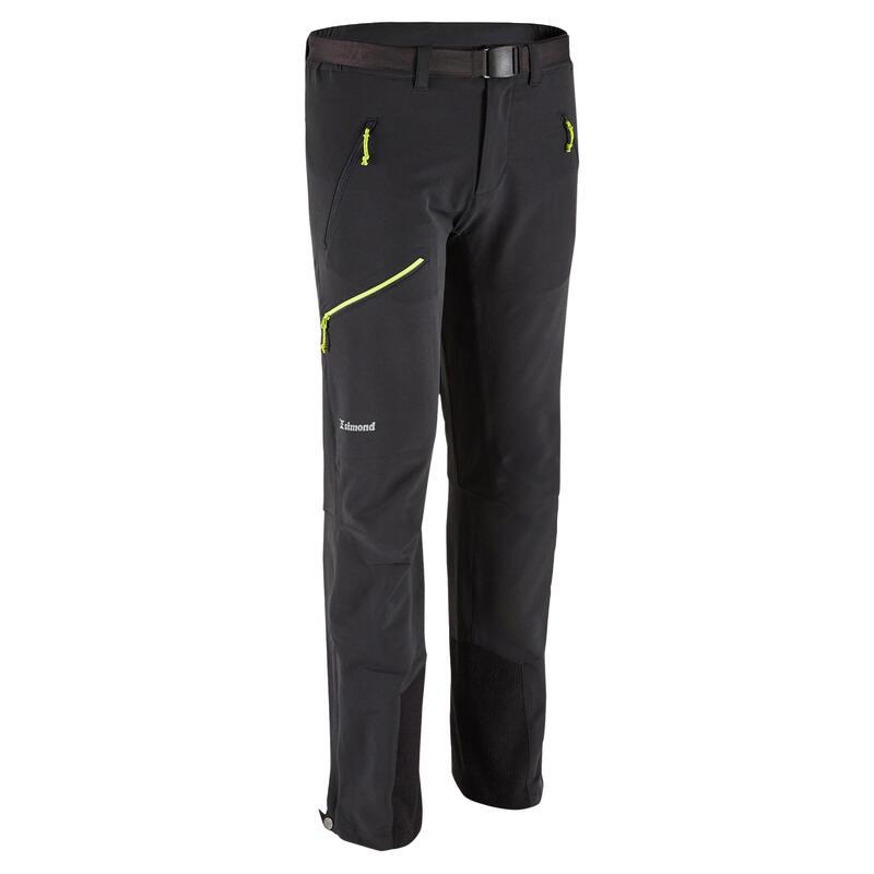 Pánské lezecké kalhoty Alpinism Light šedé