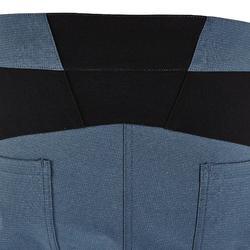 Technische klimbroek voor heren stretch onweergrijs