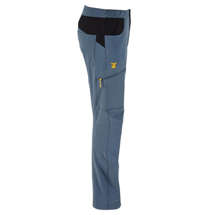 MEN'S HIGH-PERFORMANCE STRETCH CLIMBING PANTS - COLOUR STORM GREY