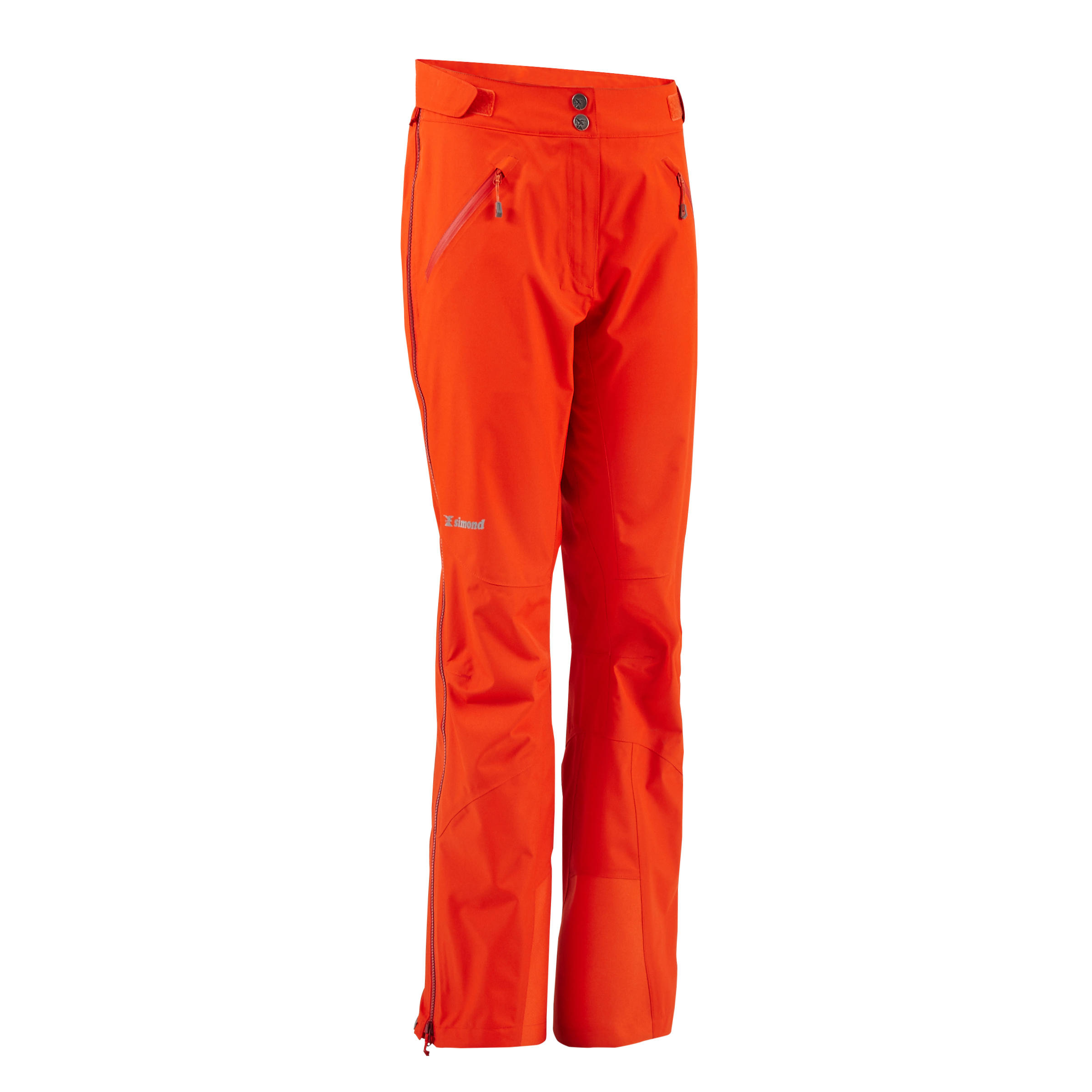 Women's Mountaineering Top-Layer Pants - Vermilion Red