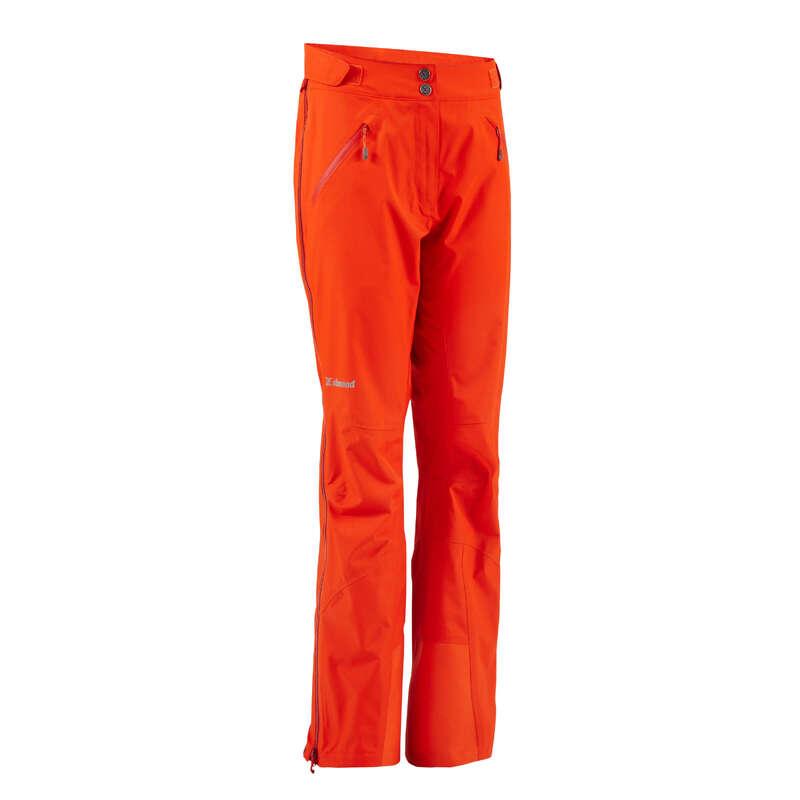 OBLEČENÍ NA ALPINISMUS Alpinismus, horolezectví - SVRCHNÍ KALHOTY ALPI ČERVENÉ SIMOND - Helmy, oblečení, obuv