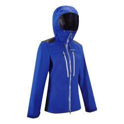 Bergsteigerjacke Alpinisme Damen blau/indigo