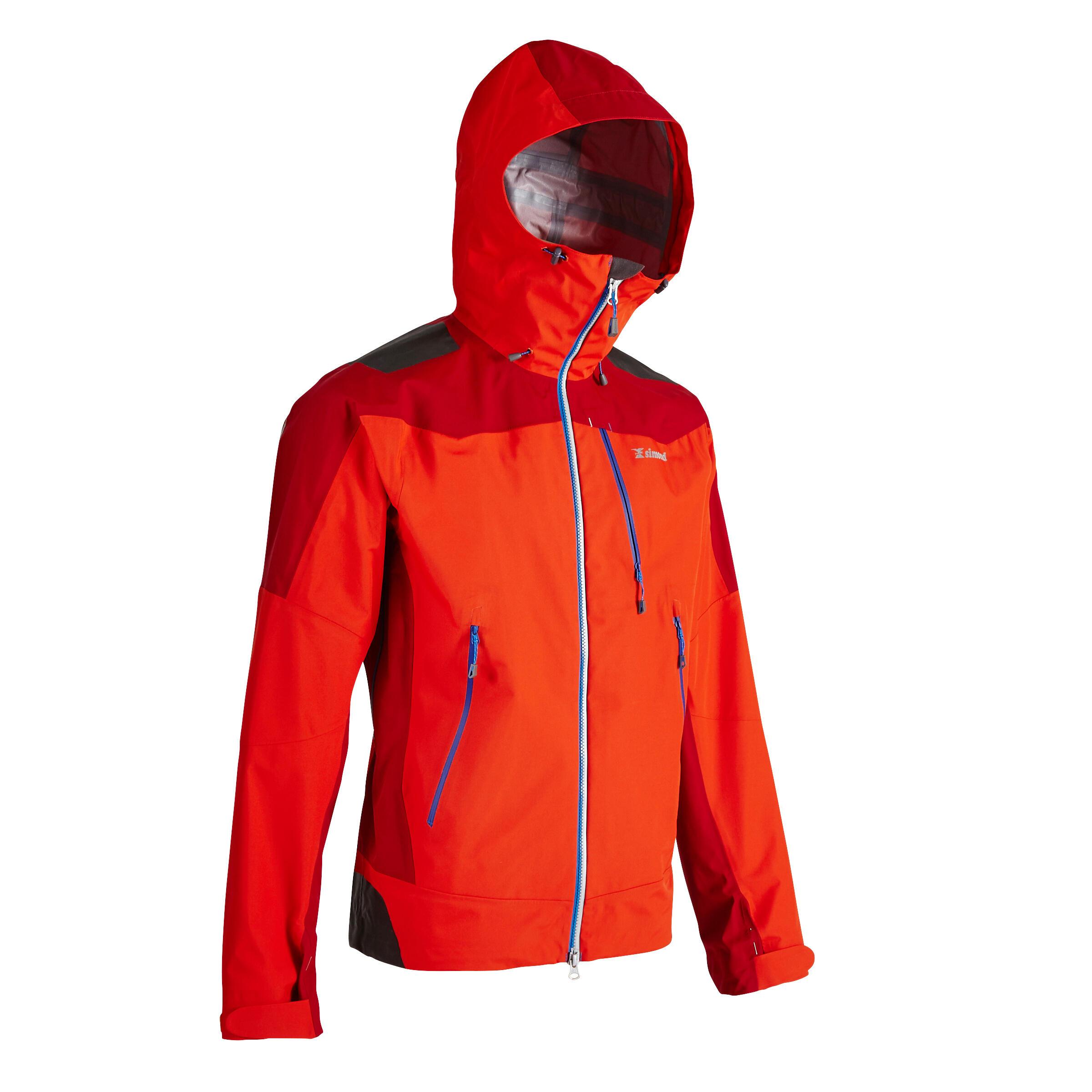 Jachetă ALPINISM Roșu Bărbați