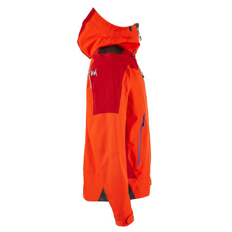 Куртка чоловіча Alpinism для альпінізму, водонепроникна - Червона