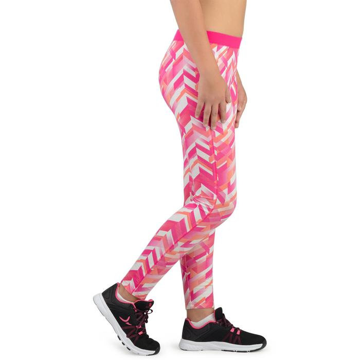 Legging 500 Gym Fille imprimé - 1326203