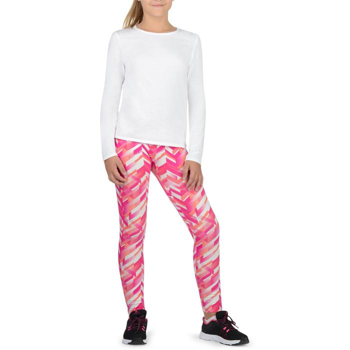 Legging 500 Gym Fille imprimé - 1326226