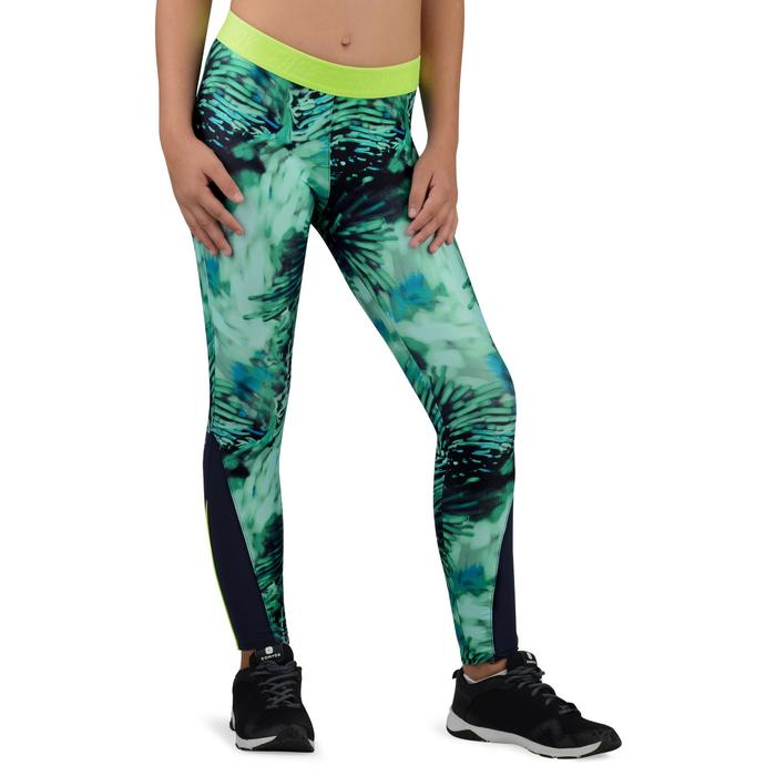 Legging S900 Gym Fille imprimé - 1326238