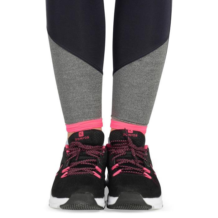 Leggings S500 Gym Kinder grau/rosa