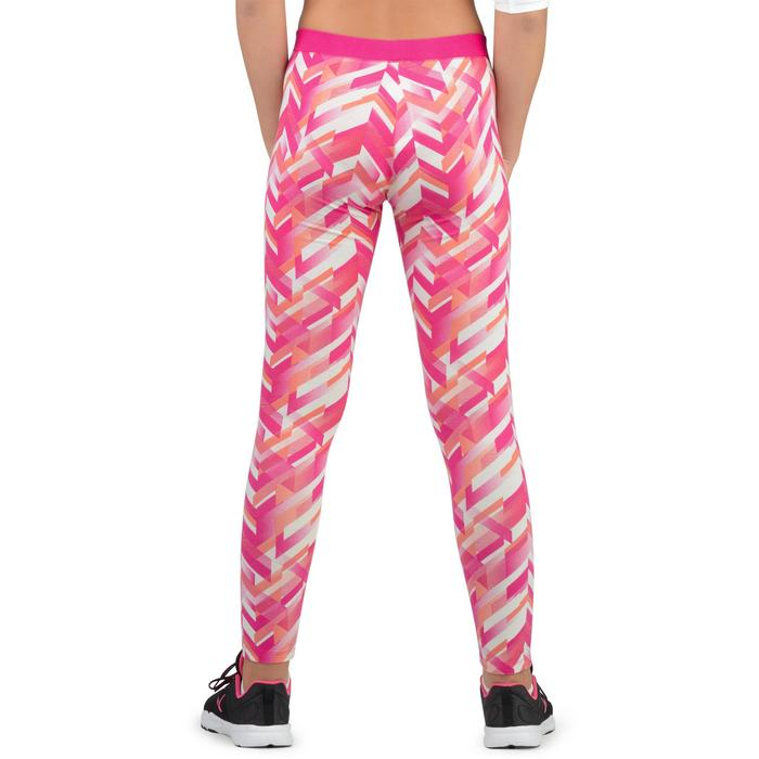 Legging 500 Gym Fille imprimé - 1326259