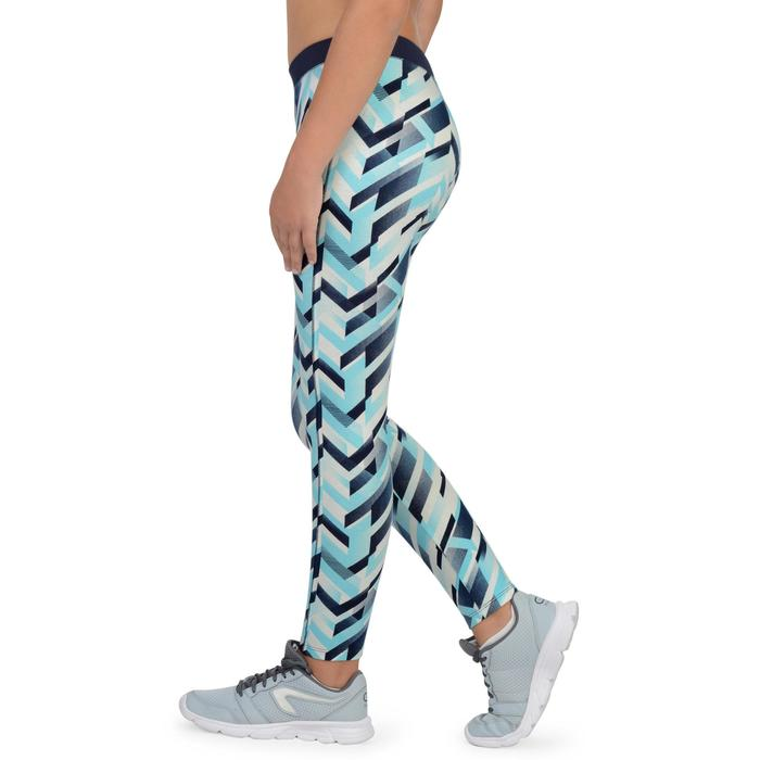 Legging 500 Gym Fille imprimé - 1326267