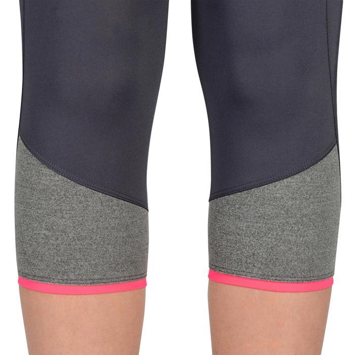 3/4-Hose S500 Gym Kinder grau/rosa