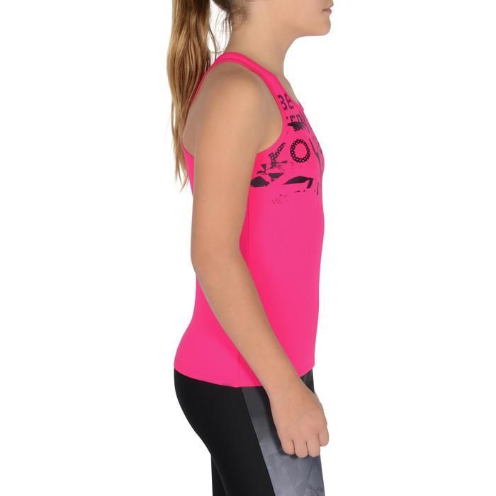 Débardeur Gym Energy fille - 1326371