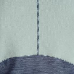 Mouwloos gymshirt 500 voor jongens grijs