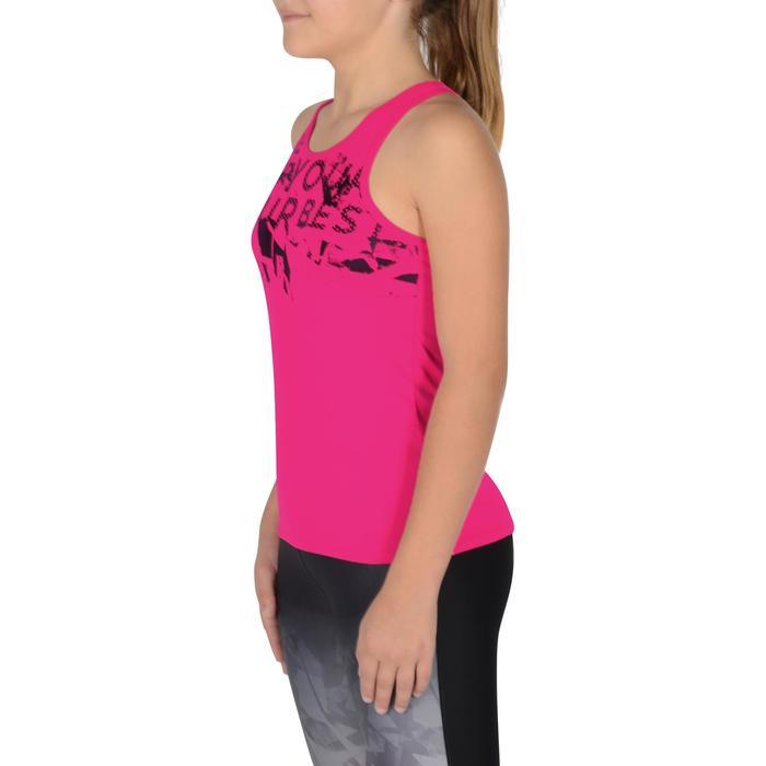 Débardeur Gym Energy fille - 1326386
