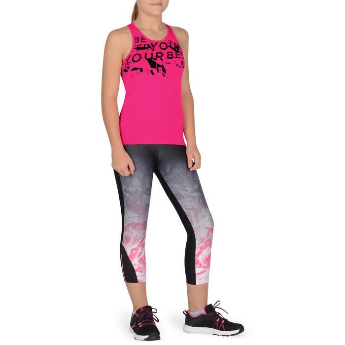 Débardeur Gym Energy fille - 1326396