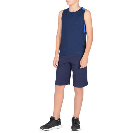 500 Boys' Gym Tank Top - Blue