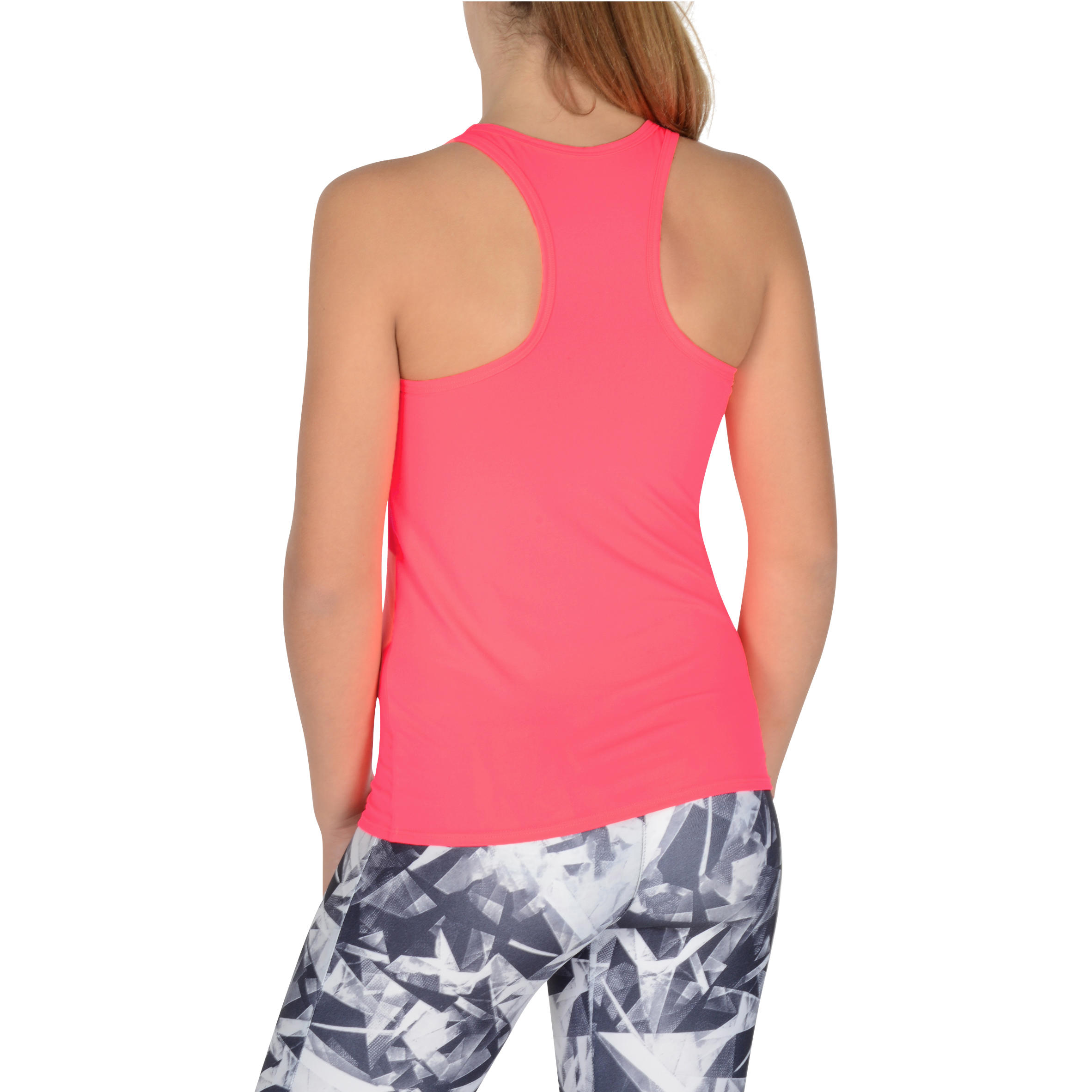 S900 My Little Top Girls' Gym Tank Top - Pink