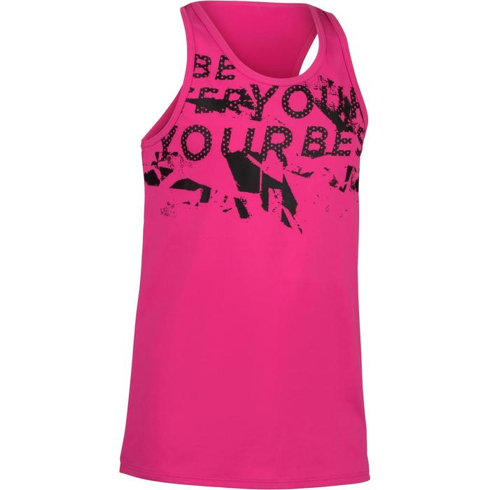 Débardeur Gym Energy fille - 1326430