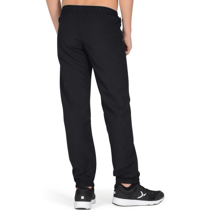 Pantalon léger S500 Gym garçon noir - 1326456