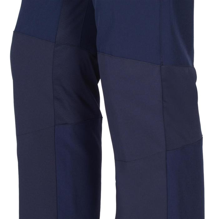 Pantalon léger W900 Gym garçon marine jaune - 1326460