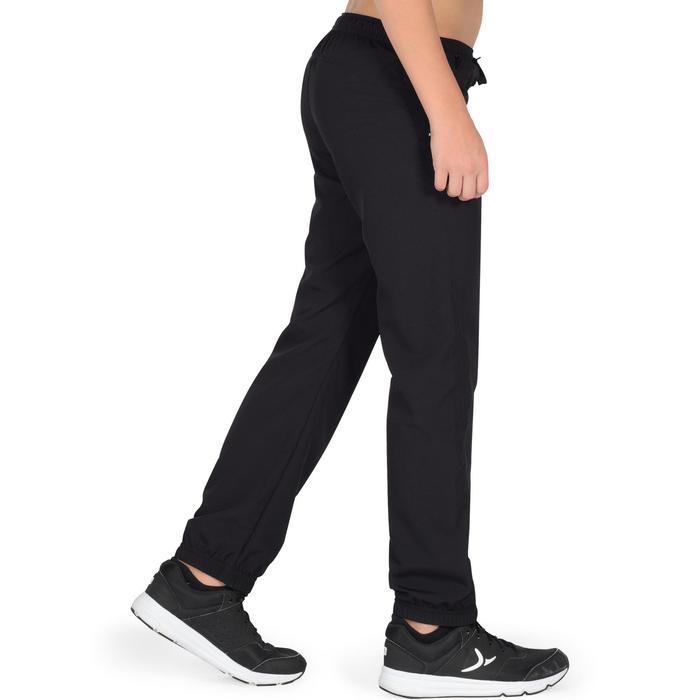 Pantalon léger S500 Gym garçon noir - 1326467