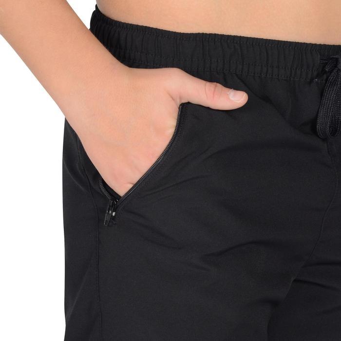 Pantalon léger S500 Gym garçon noir - 1326473