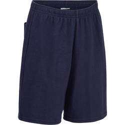 100 Boys' Gym Shorts - Blue