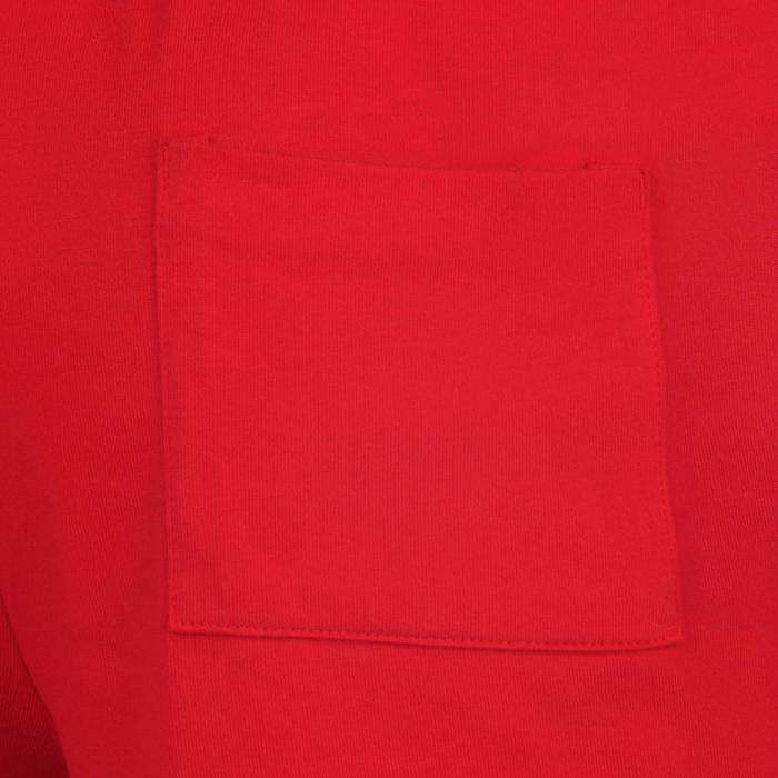 Sporthose kurz 100 Gym Kinder rot