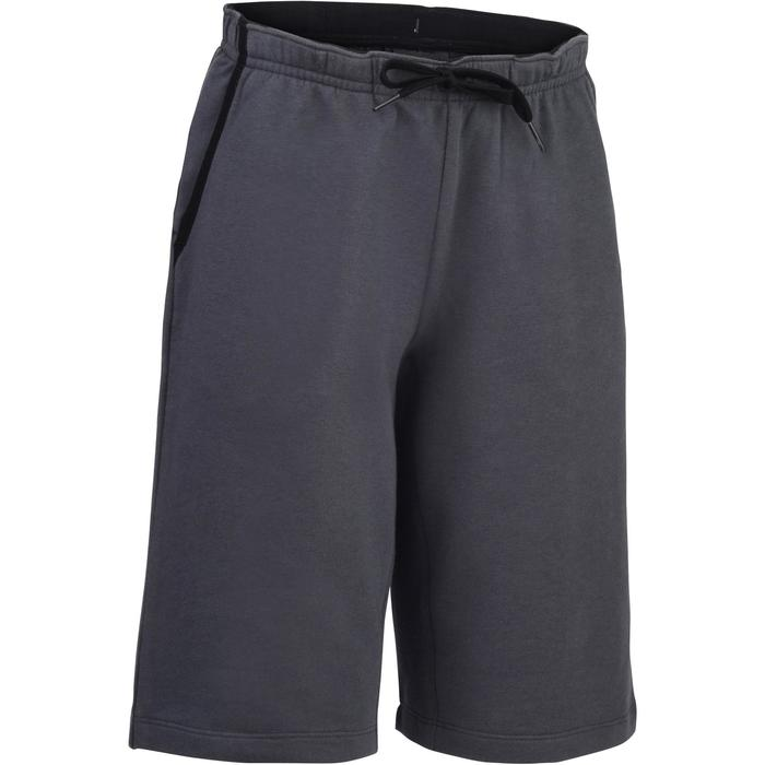 500 Boys' Gym Shorts - Grey - 1326514