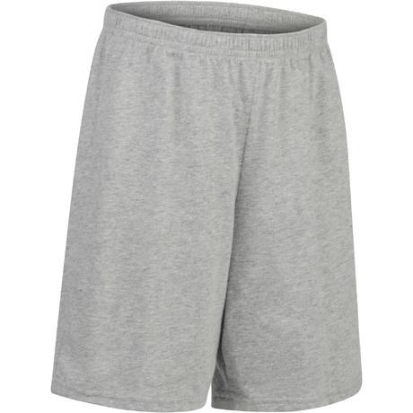Short 100 Gym Garçon gris  7913b49f48c