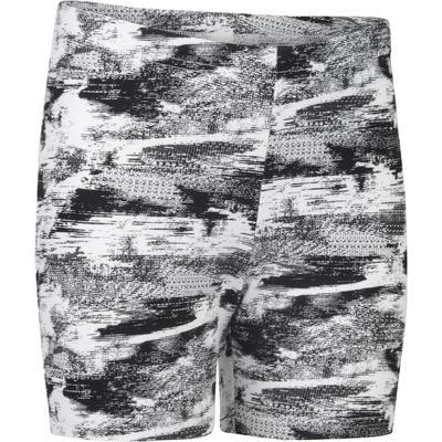 cff78320f4a87c DOMYOS. Rs 860.96. Décathlon. 100 Girls' Gym Shorts - Black/White Print