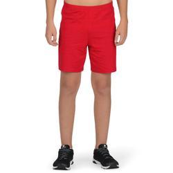 Gymshort 100 voor jongens rood