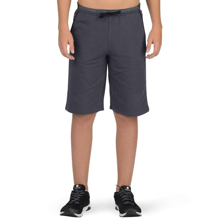 500 Boys' Gym Shorts - Grey - 1326551