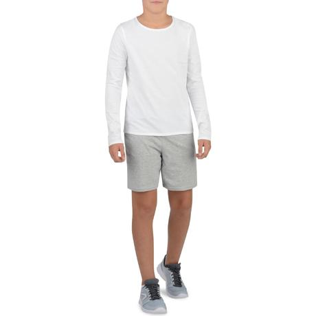 Vêtements enfant. › Short 100 Gym Garçon gris. Previous. Next 1b34aaf93a5